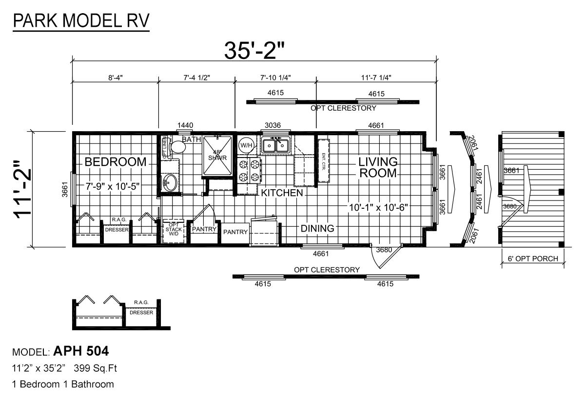 Park Model RV - APH 504
