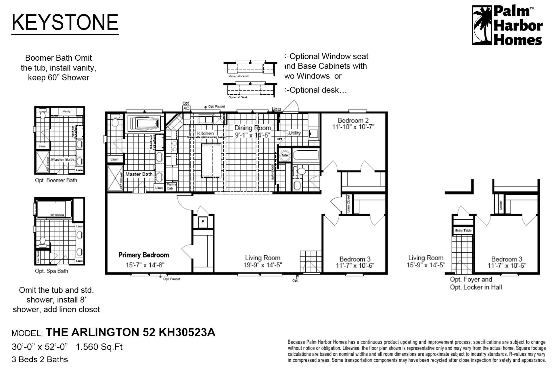 Keystone - The Arlington 52 KH30523A