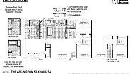 Keystone The Arlington 52 KH30523A Layout