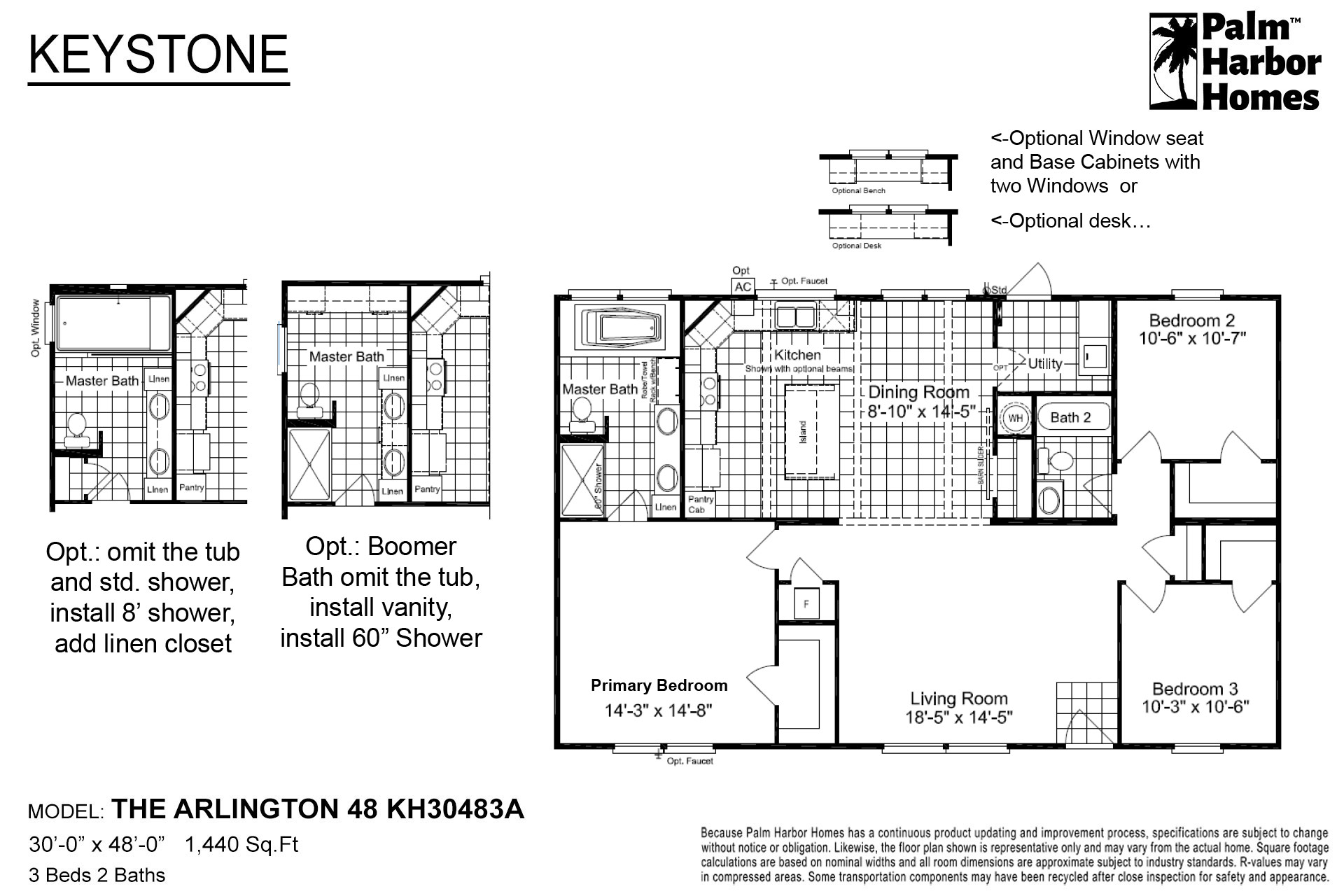 Keystone - The Arlington 48 KH30483A
