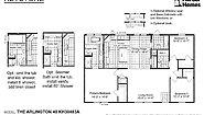 Keystone The Arlington 48 KH30483A Layout