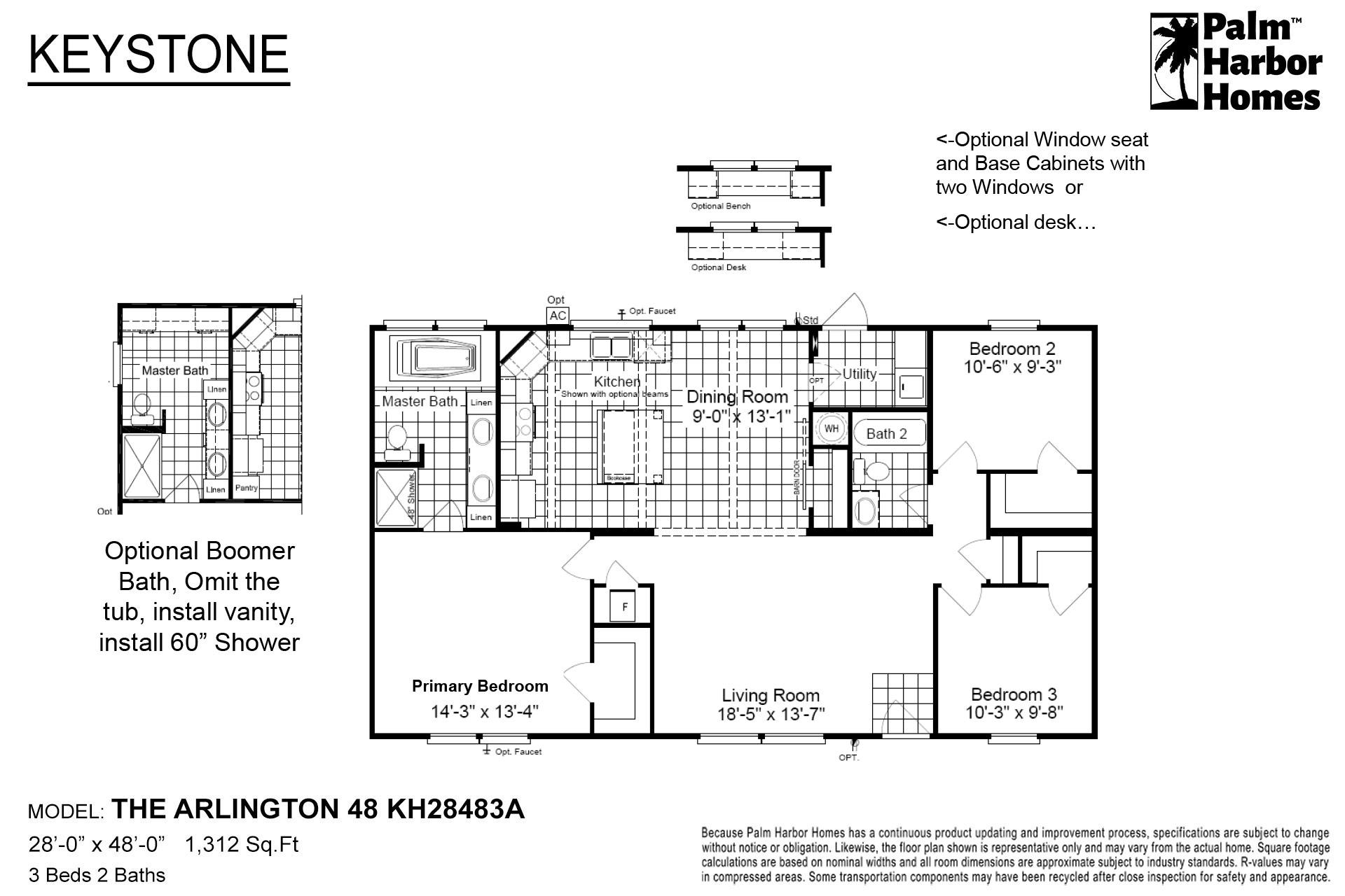 Keystone - The Arlington 48 KH28483A