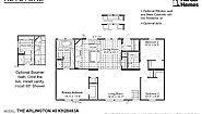 Keystone The Arlington 48 KH28483A Layout