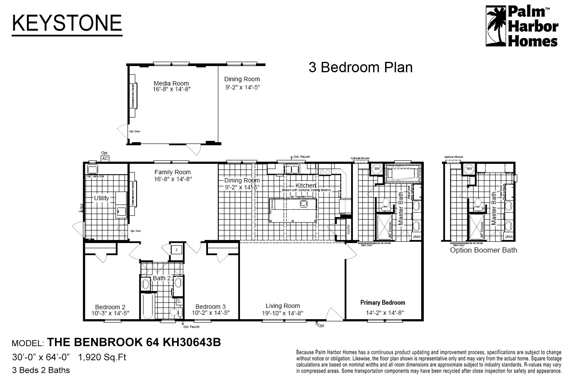 Keystone - The Benbrook 64 KH30643B