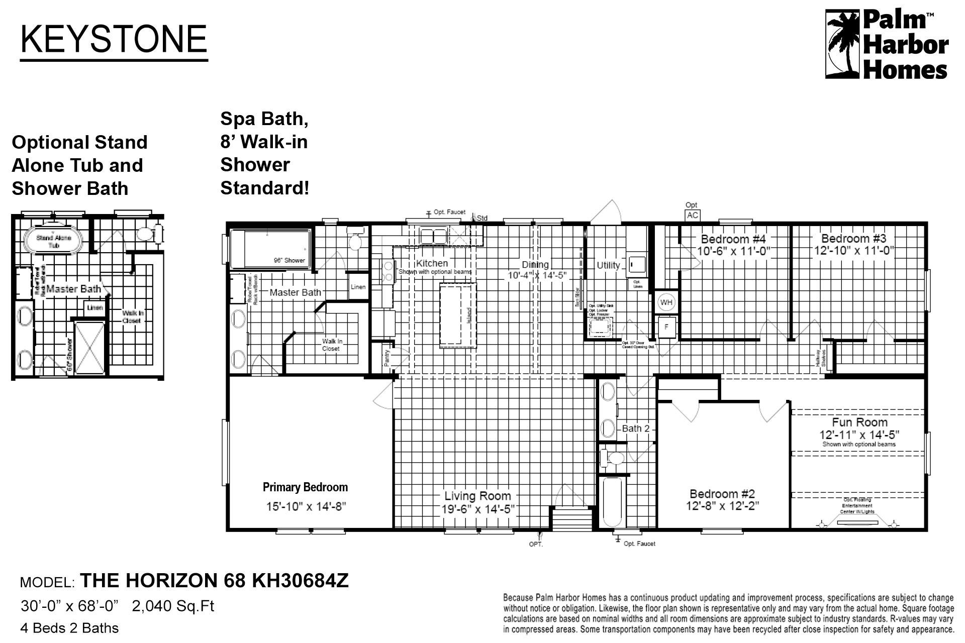 Keystone - The Horizon 68 KH30684Z
