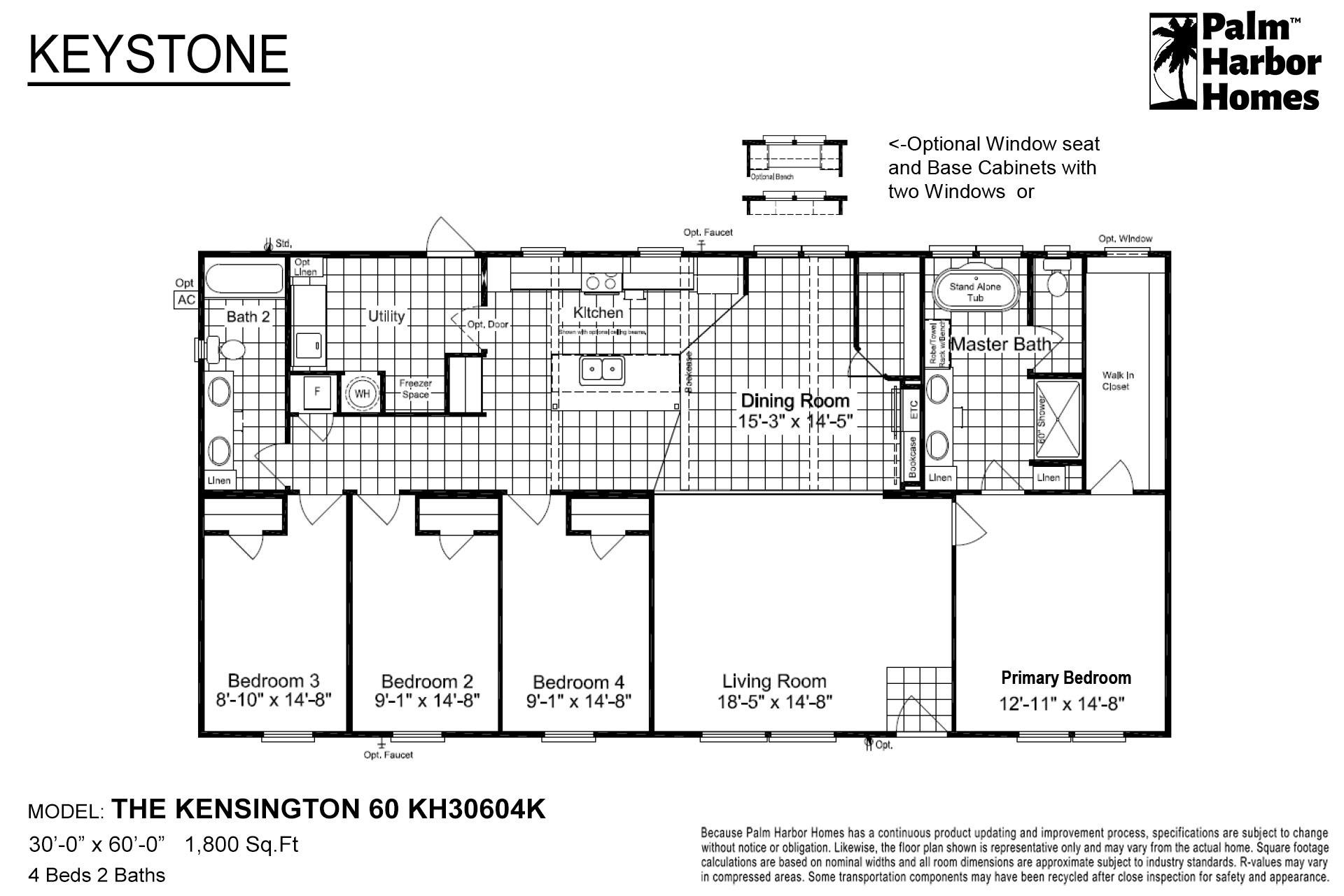 Keystone - The Kensington 60 KH30604K