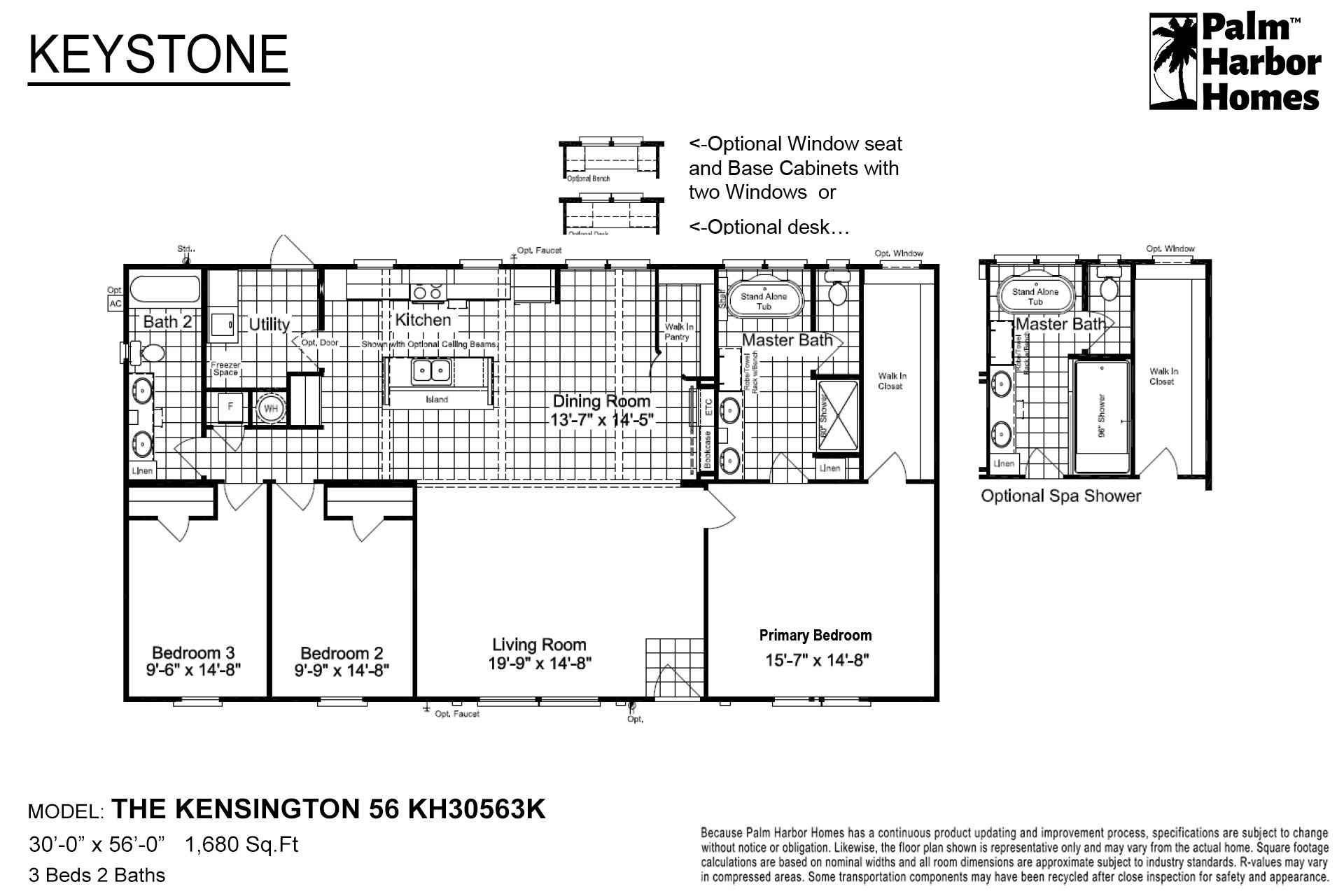 Keystone - The Kensington 56 KH30563K