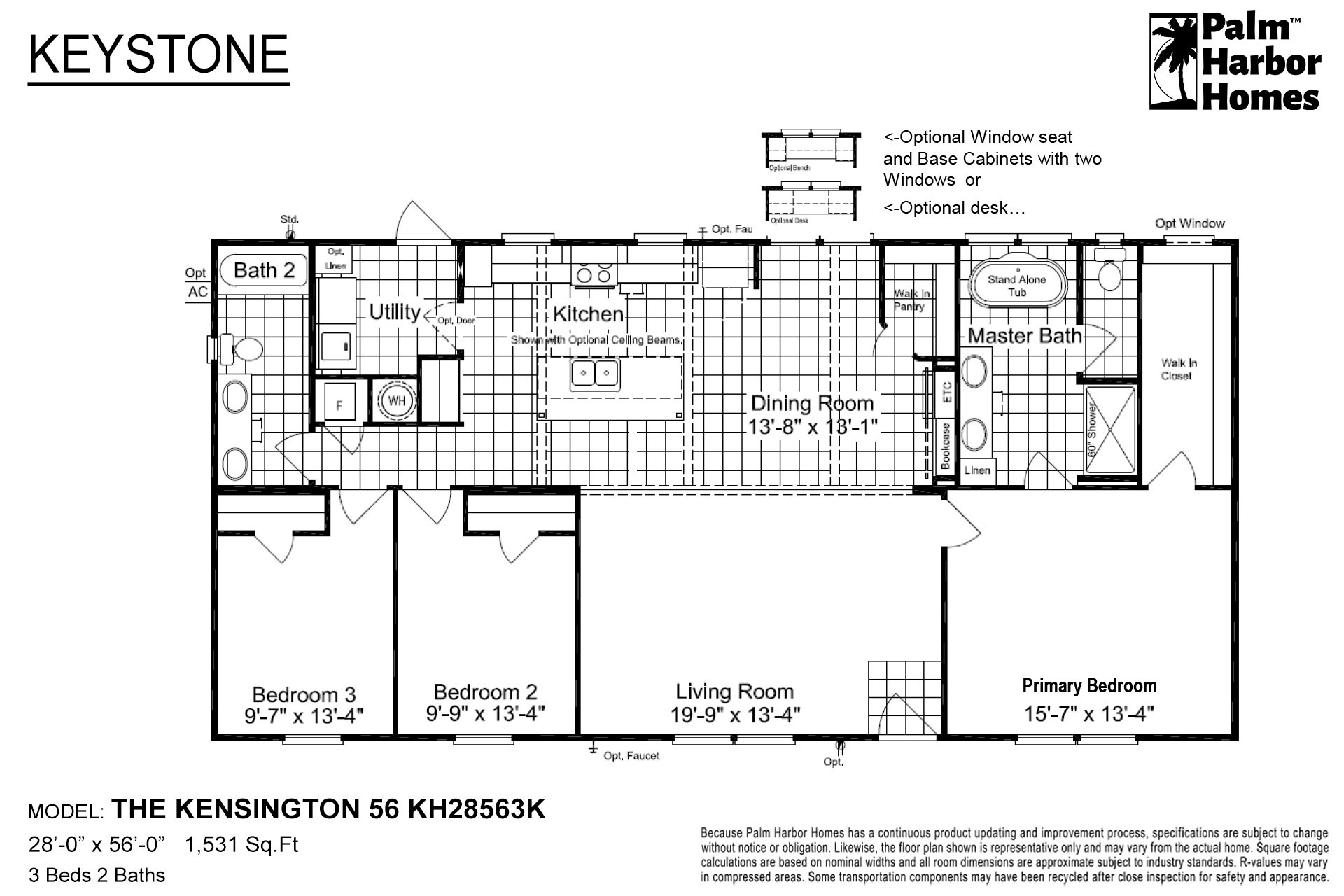 Keystone - The Kensington 56 KH28563K
