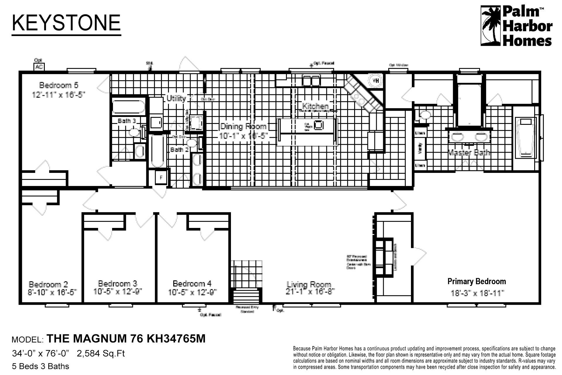 Keystone - The Magnum 76 KH34765M