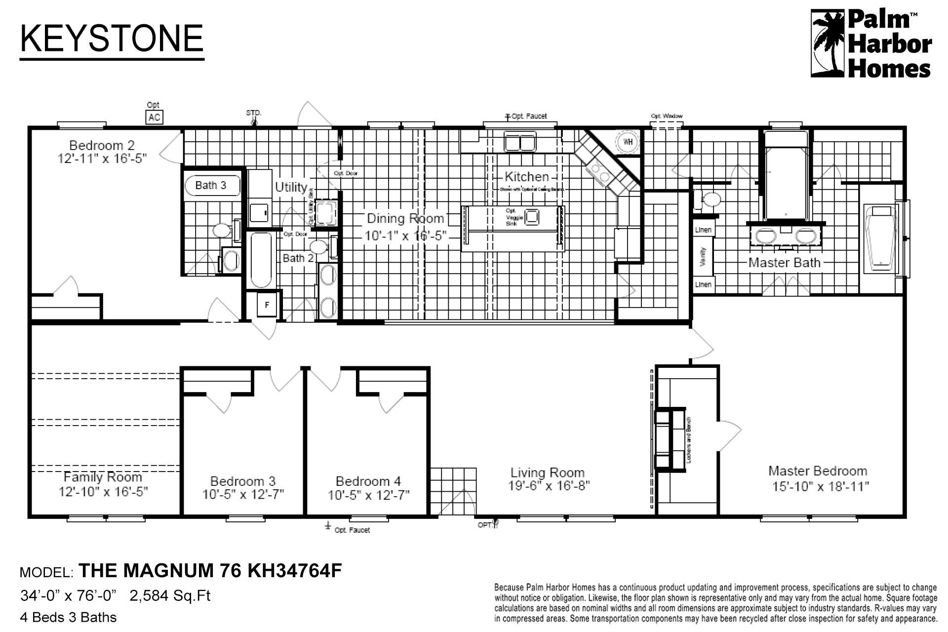 Keystone - The Magnum 76 KH34764F
