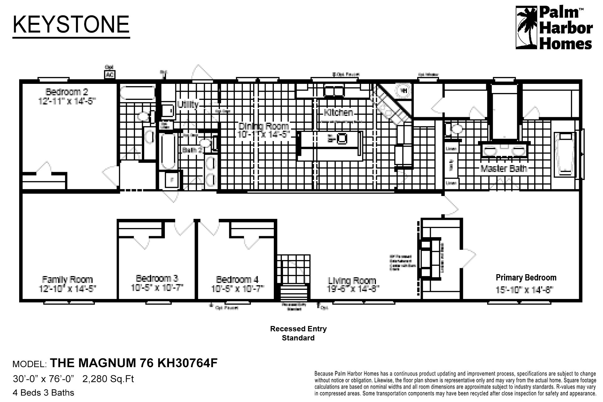 Keystone - The Magnum 76 KH30764F