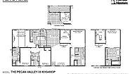 Keystone The Pecan Valley 68 KH34683P Layout