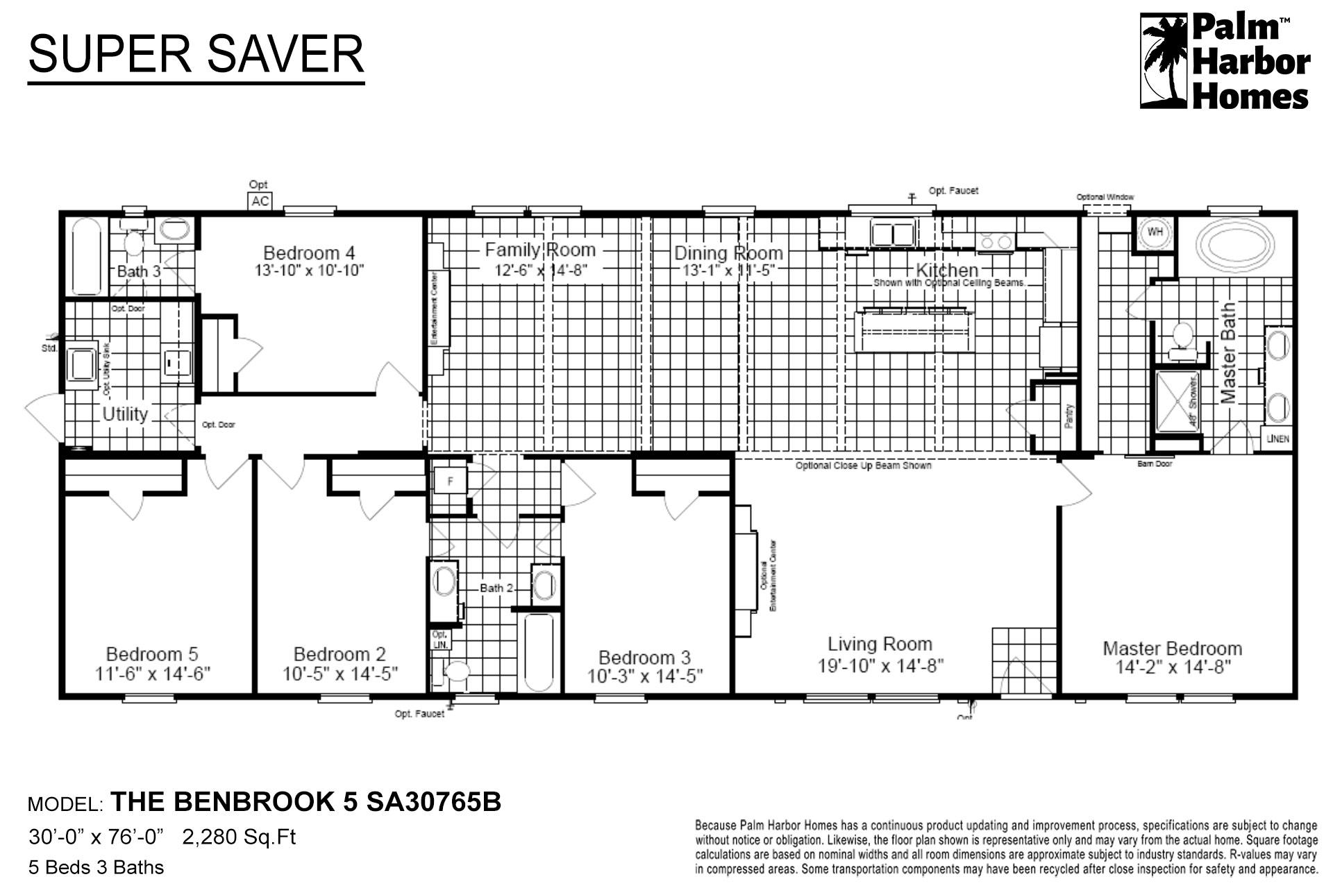 Super Saver - The Benbrook 5 SA30765B
