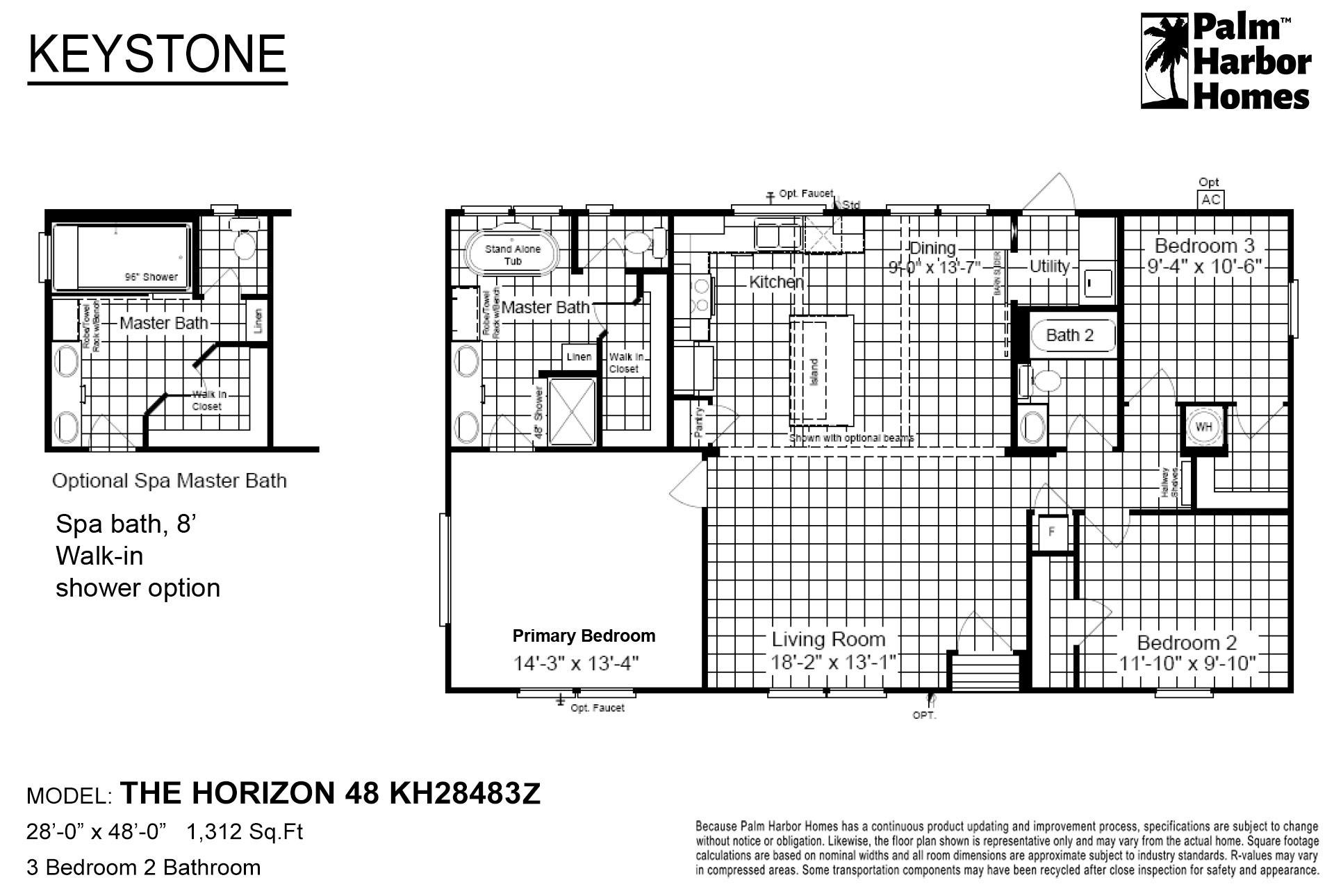 Keystone - The Horizon 48 Limited Edition KH28483Z