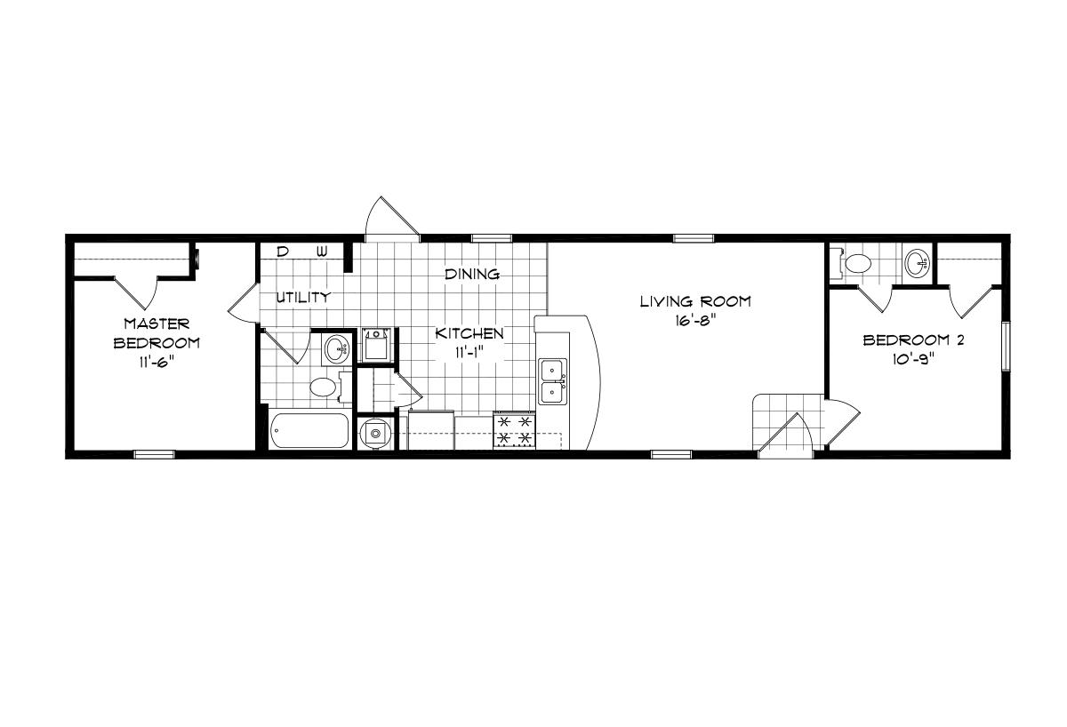 Mansion Singlewide - 4462