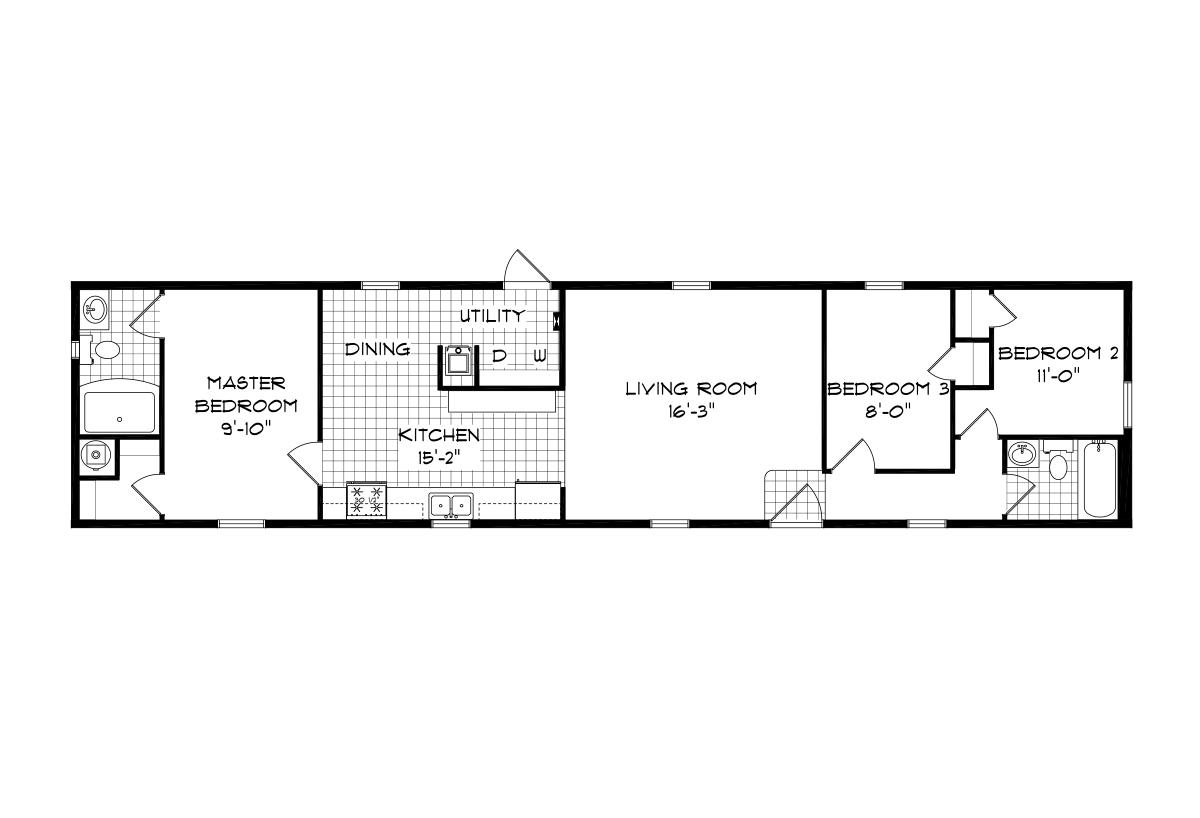 Mansion Singlewide - 4070