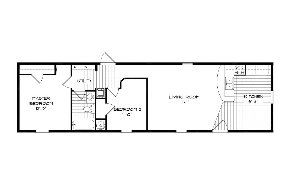 Mansion Singlewide - 4060