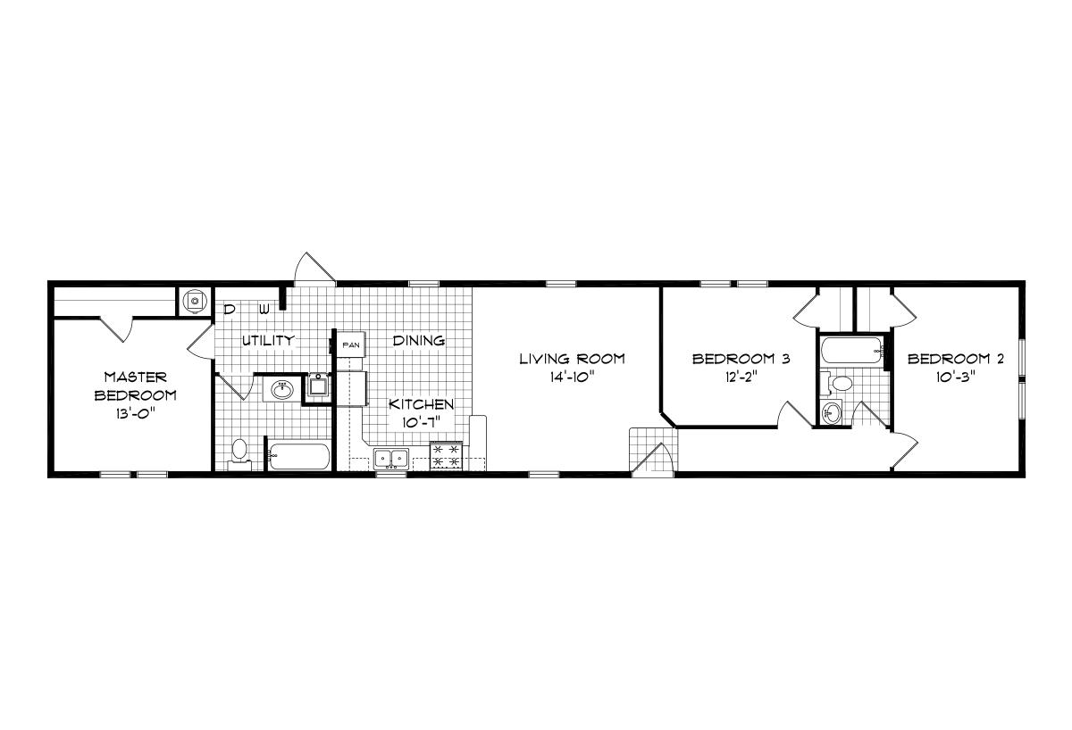 Mansion Singlewide - 8086