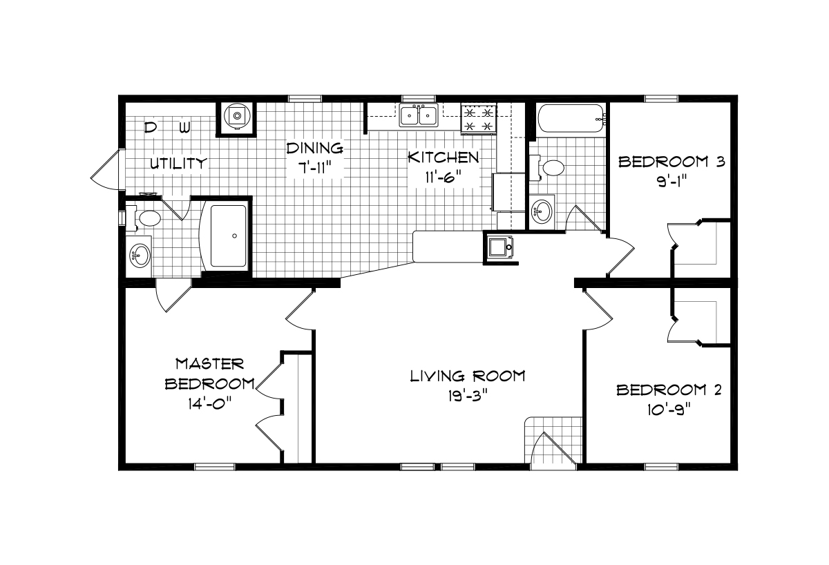 Mansion Sectional The Meadow ridge 9948 Layout