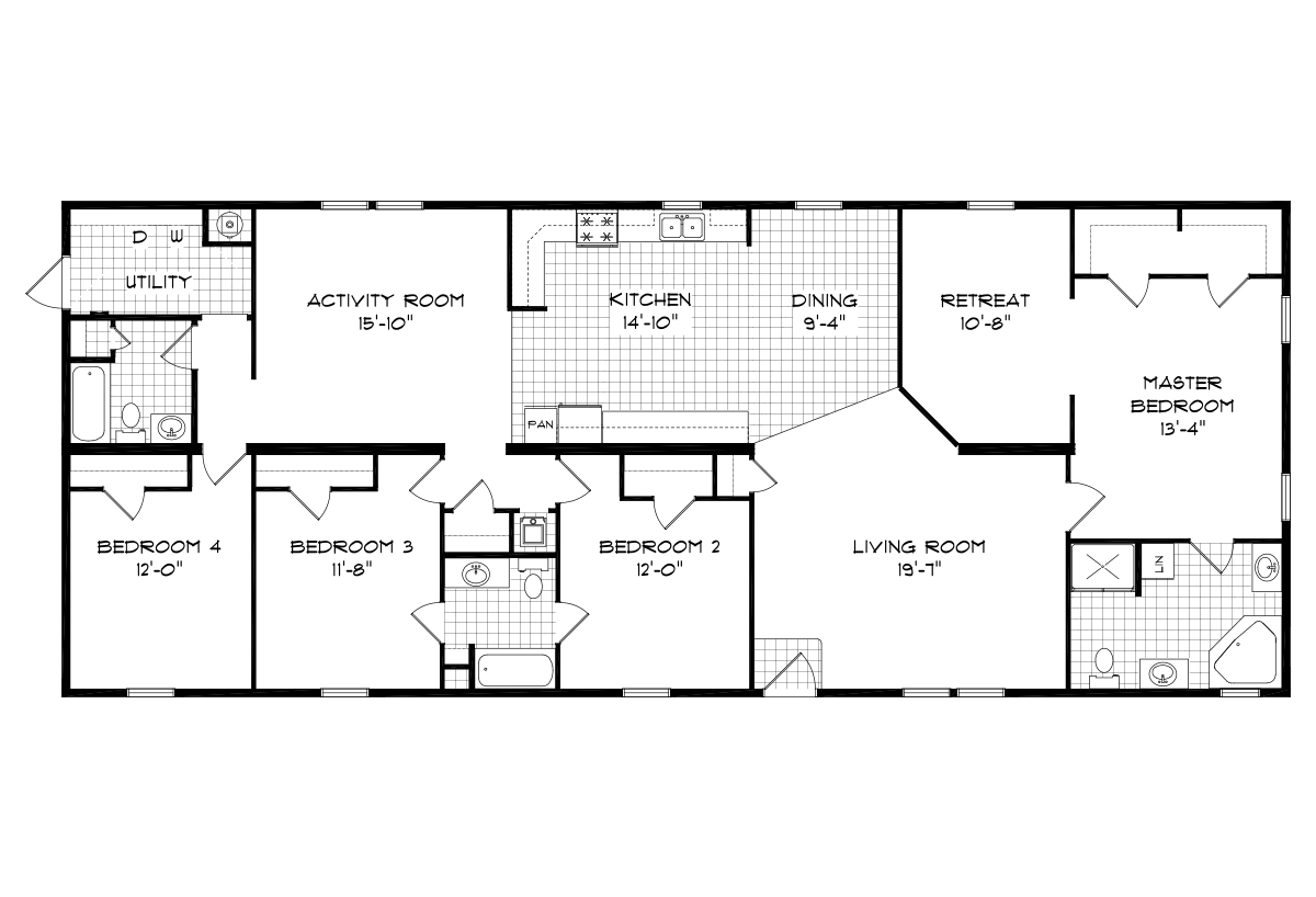 Mansion Sectional The Texas 32801 Layout