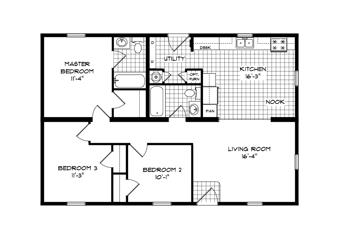 Mansion Elite Modular The Autumn Forest 40B06 Layout