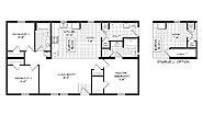 Mansion Elite Modular The Barton Forest 48B08 Layout