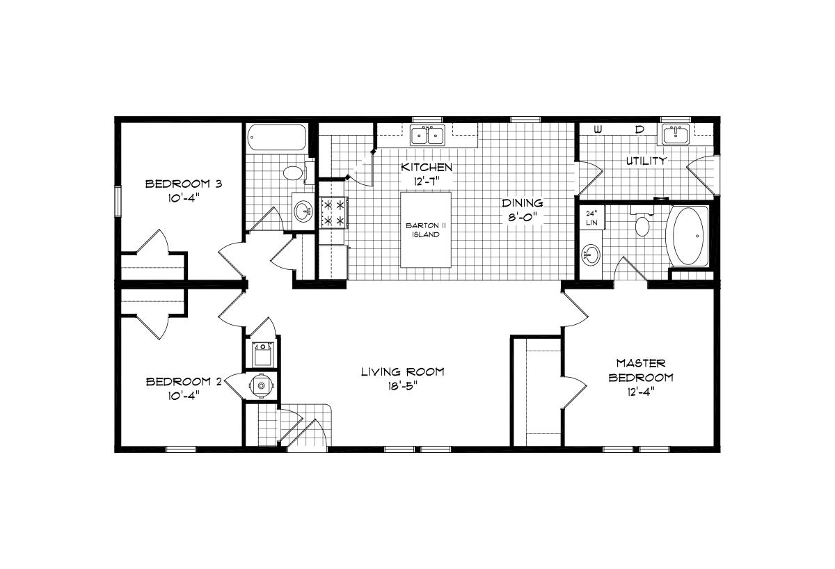 Mansion Elite Modular - The Barton Forest II 48B10