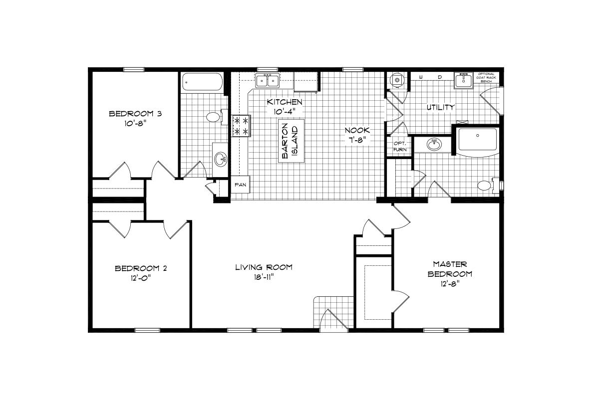 Mansion Elite Modular - The Dogwood Forest 3248B08