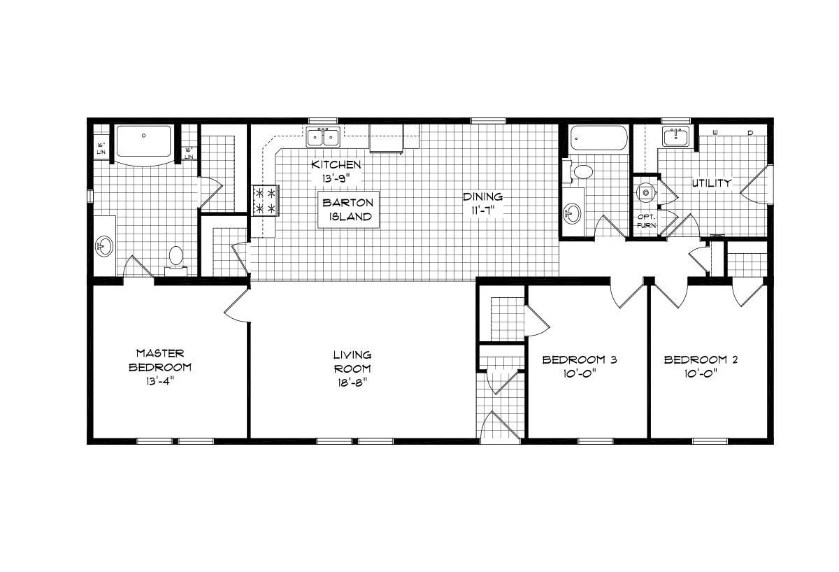 Mansion Elite Modular The Glenn Forest 56B26 Layout