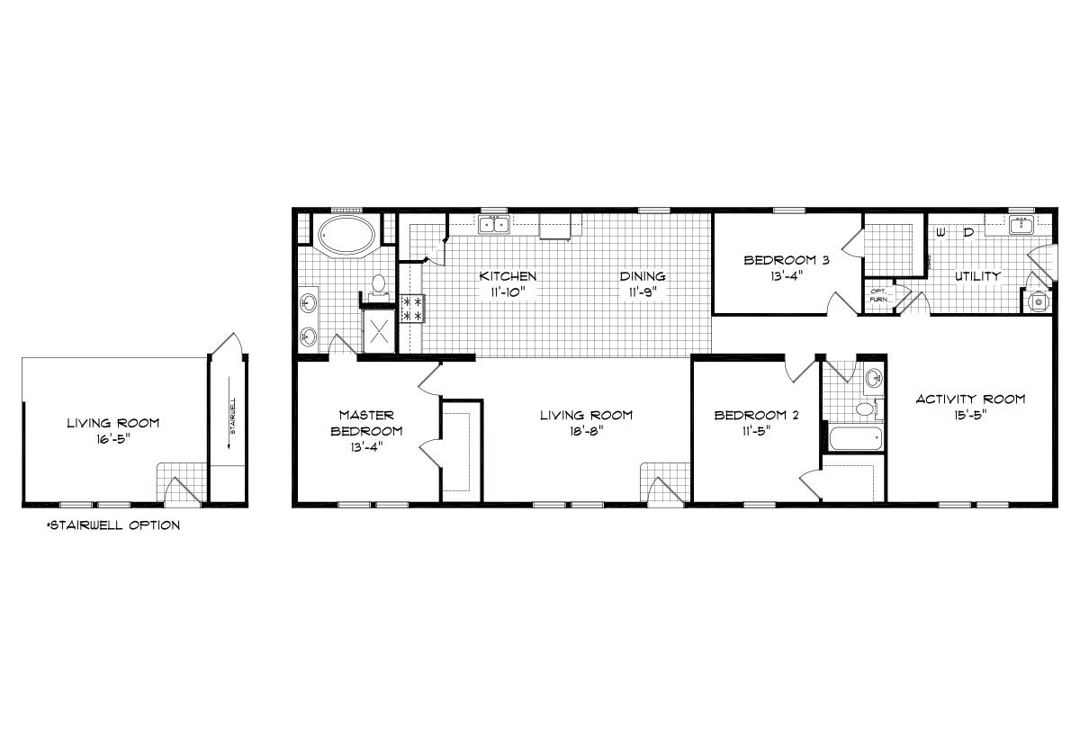 Mansion Elite Modular The Hocking Forest 68B05 Layout