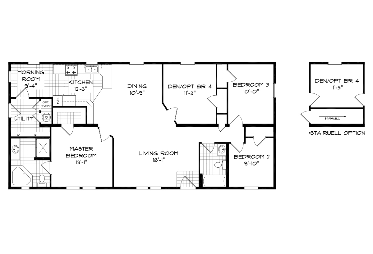 Mansion Elite Modular The Ironwood Forest 56B20 Layout