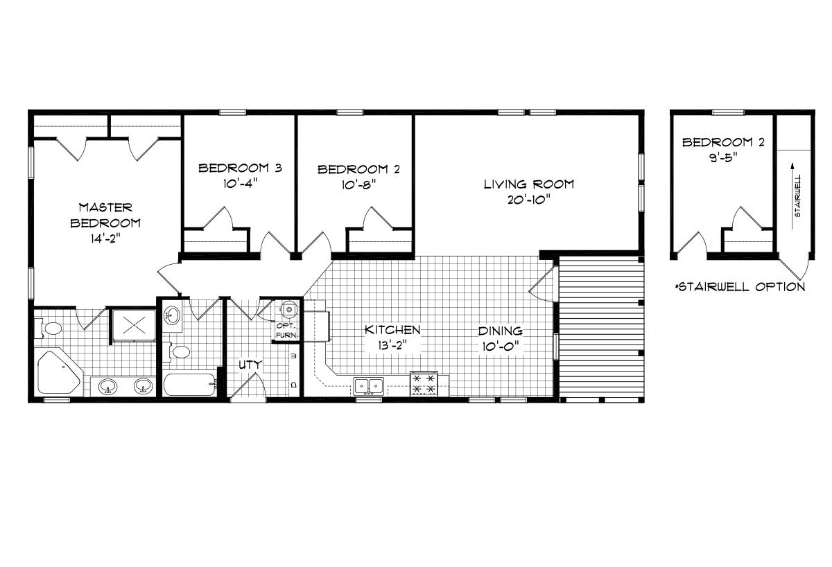 Mansion Elite Modular - The Locust Forest 56B18