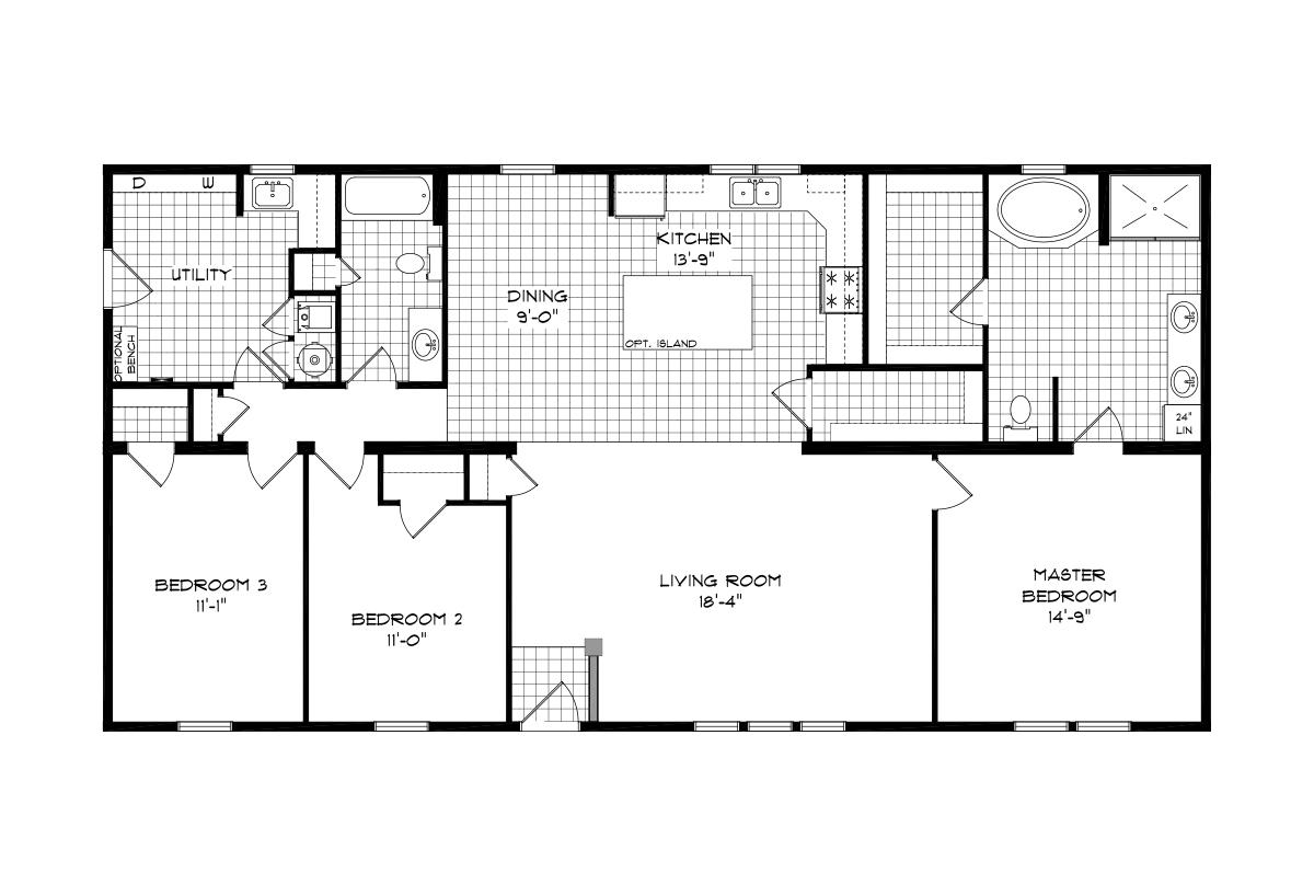Mansion Elite Modular - The Orchard Forest 3260B09
