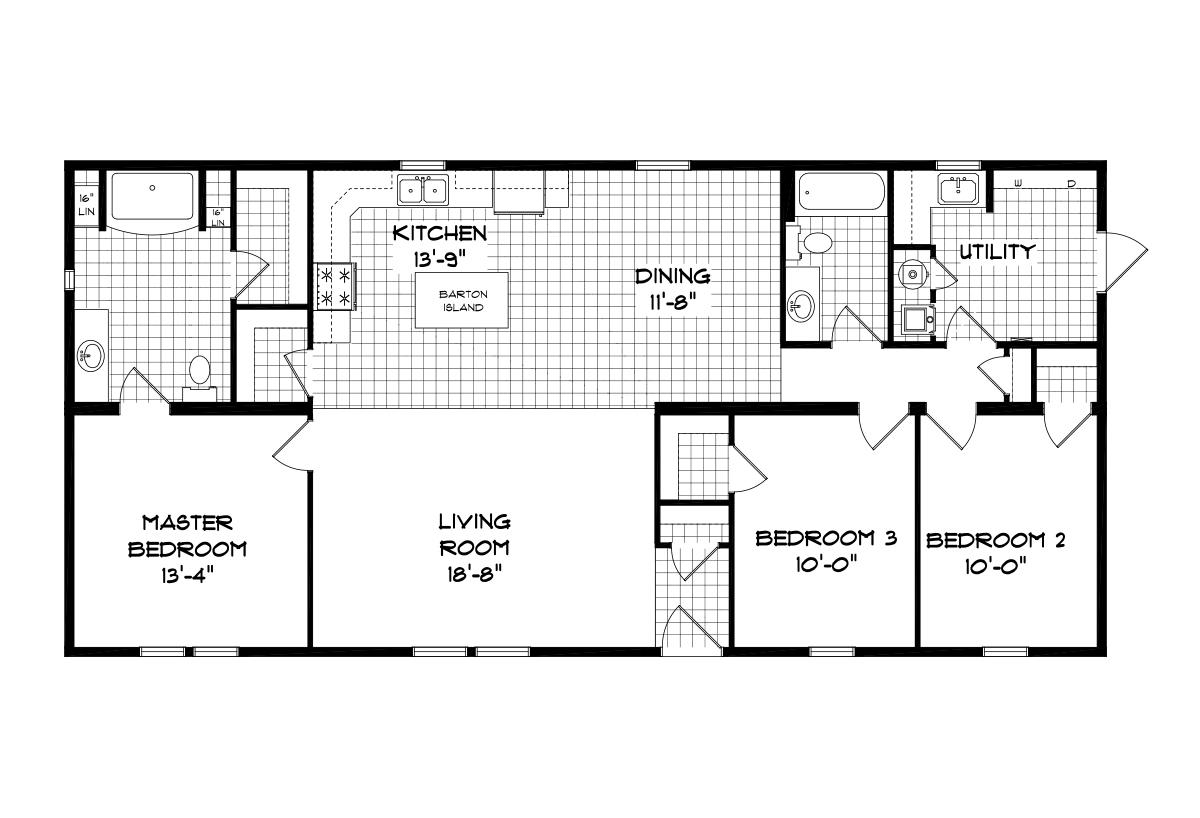 Mansion Elite Sectional - The Glenn Creek 5851