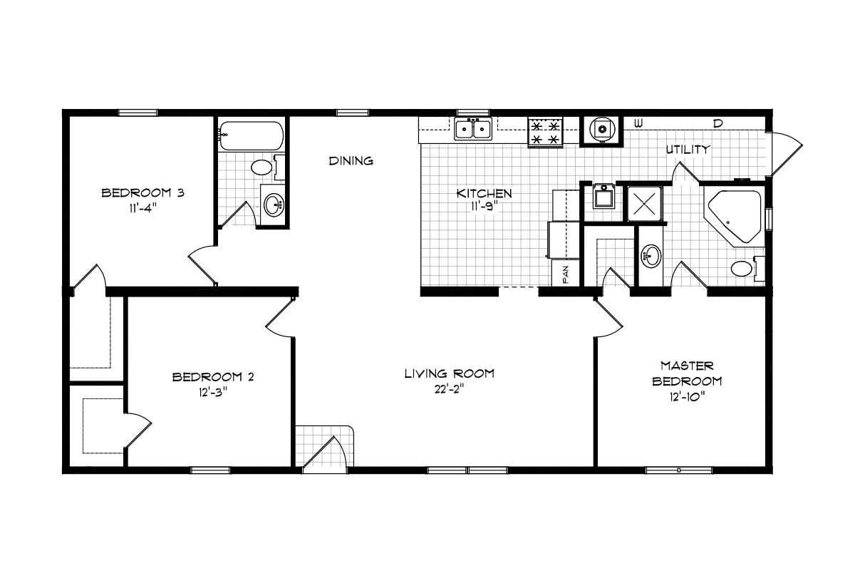 Mansion Elite Sectional - The Oak Creek 5856