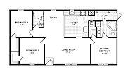 Mansion Elite Sectional The Oak Creek 5856 Layout