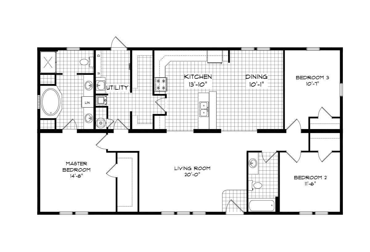 Mansion Elite Sectional The Vinton Creek 583260 Layout