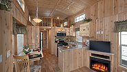 America's Park Cabins Lodge Series 39-3 Kitchen