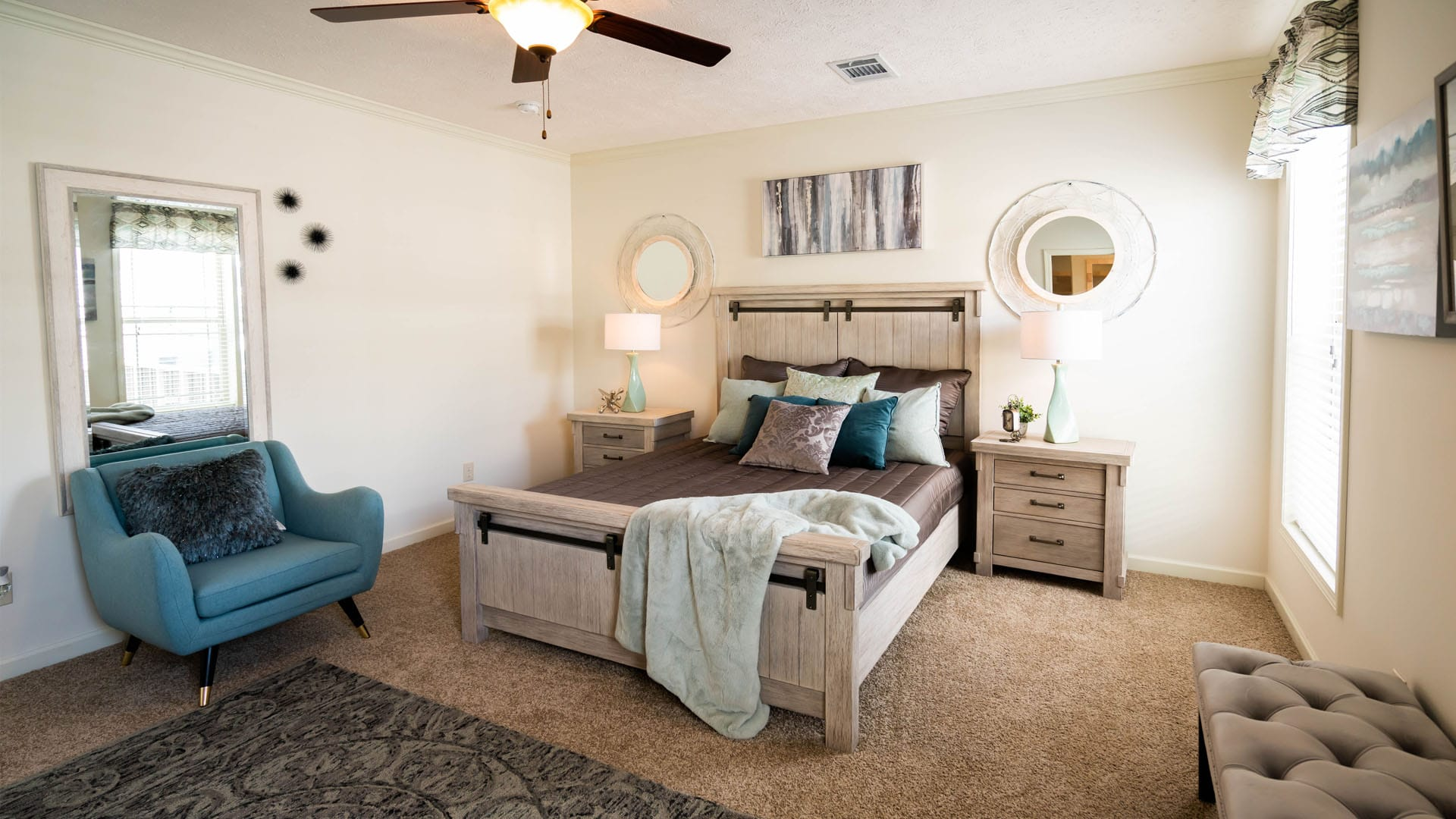 Deer Valley Homebuilders - Mossy Oak Nativ Living Series Robins Nest Bedroom