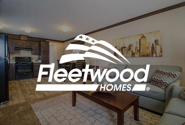 Manufactured Home Interior With Fleetwood Logo
