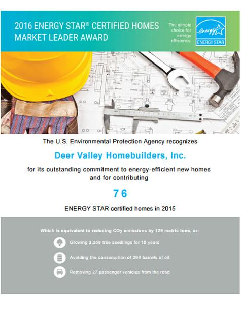 Deer Valley Energy Star Accreditation