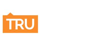 White TRU Homes Logo