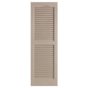 TownHomes Alpha Shutters - Brown