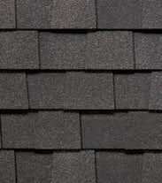 TownHomes Certainteed Architectural Shingles - Moire Black