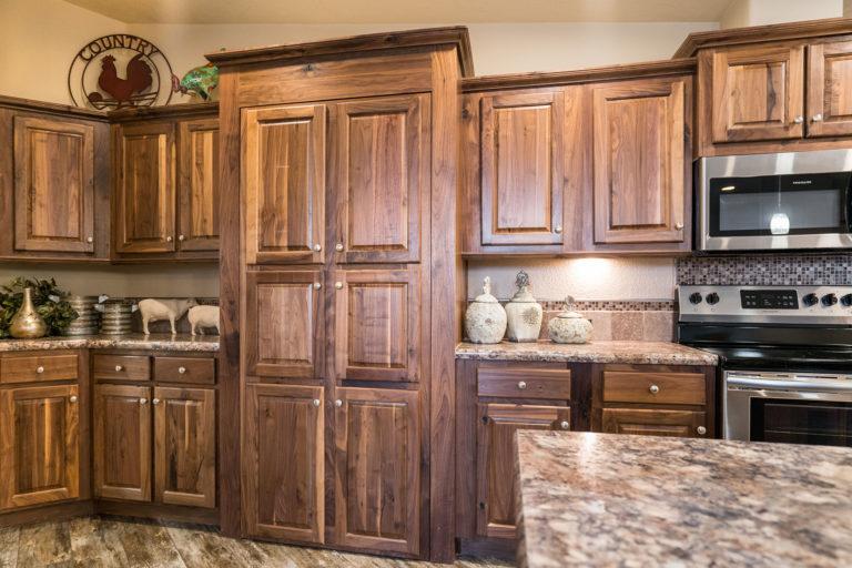 KIT Decor - Cabinets - Black Walnut Raised Panel